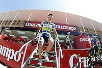 Simon Clarke before the stage of La Vuelta 2012 between Logroño and Logroño.August 22,2012. (ALTERPHOTOS/Acero) /NortePhoto.com<br /> <br /> **SOLO*VENTA*EN*MEXICO**<br /> **CREDITO*OBLIGATORIO**<br /> *No*Venta*A*Terceros*<br /> *No*Sale*So*third*<br /> *** No Se Permite Hacer Archivo**<br /> *No*Sale*So*third*