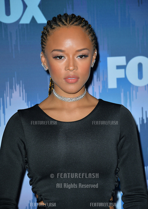 Serayah McNeill at the Fox Winter TCA 2017 All-Star Party at the Langham Huntington Hotel, Pasadena, USA 11th January  2017<br /> Picture: Paul Smith/Featureflash/SilverHub 0208 004 5359 sales@silverhubmedia.com