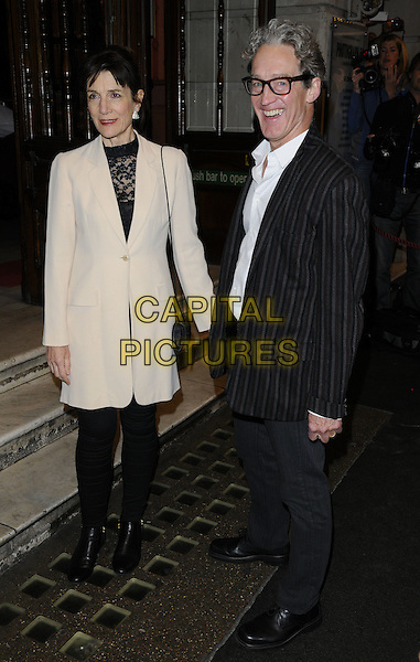 Harriet Walter &amp; Guy Paul attend the &quot;Photograph 51&quot; press night, Noel Coward Theatre, St Martin's Lane, London, England, UK, on Monday 14 September 2015. <br /> CAP/CAN<br /> &copy;CAN/Capital Pictures