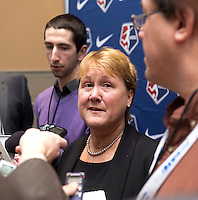Chjeryl Bailey. The NWSL draft was held at the Pennsylvania Convention Center in Philadelphia, PA, on January 17, 2014.