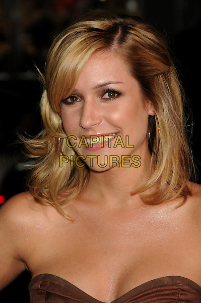 "KRISTIN CAVALLARI  .""Eagle Eye"" Los Angeles Premiere at Grauman's Chinese Theatre, Hollywood, California, USA..September 16th, 2008.headshot portrait strapless .CAP/ADM/BP.©Byron Purvis/AdMedia/Capital Pictures."