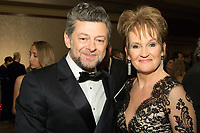 Andy Serkis and Lorraine Ashbourne attend The 90th Oscars&reg; at the Dolby&reg; Theatre in Hollywood, CA on Sunday, March 4, 2018.<br /> *Editorial Use Only*<br /> CAP/PLF/AMPAS<br /> Supplied by Capital Pictures