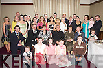 RUBY: Big celebrations were held in The Brehon Hotel, Killarney, on Saturday evening for the double 40th Wedding Anniversary of two couples, Miceal and Bridie Murphy, Lissivigeen, Killarney (seated second and third from left) and Jimmy and Mary Cronin, Doocarraig, Headford, Killarney (seated right), along with family and friends..