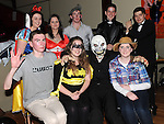 The organizers pictured at the Halloween party for members of Ardee Brass Band in the Bohemian centre. Photo:Colin Bell/pressphotos.ie