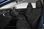Front seat view of a 2019 Toyota Corolla  Premium 4 Door Sedan front seat car photos