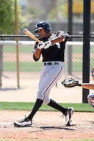 Salvador Sanchez, Chicago White Sox 2010 minor league spring training..Photo by:  Bill Mitchell/Four Seam Images.