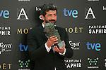 Alberto Rodriguez attend the 2015 Goya Award Winners Photocall at Auditorium Hotel, Madrid,  Spain. February 08, 2015.(ALTERPHOTOS/)Carlos Dafonte)