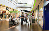 Shopping mall at Manufaktura entertainment and cultural center. Balucki District Lodz Central Poland