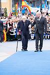 Peter Brook arrives to Teatro Campoamor for Princess of Asturias Awards 2019 in Oviedo. October 18, 2019 (Alterphotos/ Francis Gonzalez)