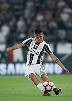 Calcio, Serie A: Juventus vs Fiorentina. Torino, Juventus Stadium, 20 agosto 2016.<br /> Juventus&rsquo; Paulo Dybala in action during the Italian Serie A football match between Juventus and Fiorentina at Turin's Juventus Stadium, 20 August 2016.<br /> UPDATE IMAGES PRESS/Isabella Bonotto