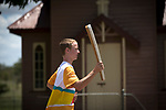 Batonbearer Ben Stevenson carrying the Baton as the Queen's Baton Relay visited Pentland. In the host state of Queensland the Queen's Baton will visit 83 communities from Saturday 3 March to Wednesday 4 April 2018. As the Queen's Baton Relay travels the length and breadth of Australia, it will not just pass through, but spend quality time in each community it visits, calling into hundreds of local schools and community celebrations in every state and territory. The Gold Coast 2018 Commonwealth Games (GC2018) Queen's Baton Relay is the longest and most accessible in history, travelling through the Commonwealth for 388 days and 230,000 kilometres. After spending 100 days being carried by approximately 3,800 batonbearers in Australia, the Queen's Baton journey will finish at the GC2018 Opening Ceremony on the Gold Coast on 4 April 2018.