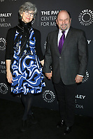 LOS ANGELES - NOV 21:  Daena E Title, Jason Alexander at the The Paley Honors: A Special Tribute To Television's Comedy Legends at Beverly Wilshire Hotel on November 21, 2019 in Beverly Hills, CA