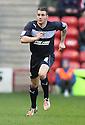 James Dunne of Stevenage. Walsall v Stevenage - npower League 1 - Banks's Stadium, Walsall - 1st January, 2013. © Kevin Coleman 2013.