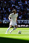 Real Madrid´s Gareth Bale during 2014-15 La Liga match between Real Madrid and Granada at Santiago Bernabeu stadium in Madrid, Spain. April 05, 2015. (ALTERPHOTOS/Luis Fernandez)