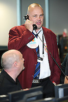 Al Murray<br /> on the trading floor for the BGC Charity Day 2016, Canary Wharf, London.<br /> <br /> <br /> &copy;Ash Knotek  D3152  12/09/2016