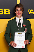 Boys Tennis winner Chester Espie from Westlake Boys High School. ASB College Sport Young Sportsperson of the Year Awards held at Eden Park, Auckland, on November 24th 2011.