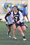 Santa Barbara, CA 02/19/11 - Courtney Weckerle (CSU Fullerton #1) and \scr7\ in action during the CSU Fullerton-UC Santa Cruz game at the 2011 Santa Barbara Shootout.