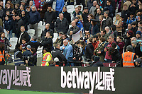 Trouble at during West Ham United vs Burnley, Premier League Football at The London Stadium on 10th March 2018