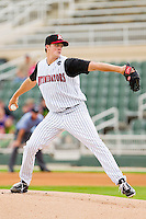 Starting pitcher Jacob Petricka #17 of the Kannapolis Intimidators in action against the West Virginia Power at Fieldcrest Cannon Stadium on April 20, 2011 in Kannapolis, North Carolina.   Photo by Brian Westerholt / Four Seam Images