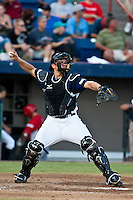 Travis d'Arnaud of the Dunedin Blue Jays during the Florida State League All Star Game on June 12 2010 at Space Coast Stadium in Viera, FL (Photo By Scott Jontes/Four Seam Images)