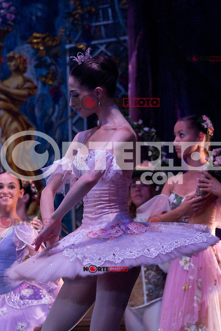 31.07.2012. Press Pass at the Teatro Compac Gran Via in Madrid of &acute;Sleeping Beauty&acute; performed by the Moscow City Ballet. The company, one of the most serious and substantial in Europe, says goodbye and Spain. The event counted with the assistance of producer Tatiana Solovieva and the soloists and leading figures Orekhova Lilia, Alevtina Lapshina, Talgat Koshabaev and Daniil Orlov. (Alterphotos/Marta Gonzalez) /NortePhoto.com<br />