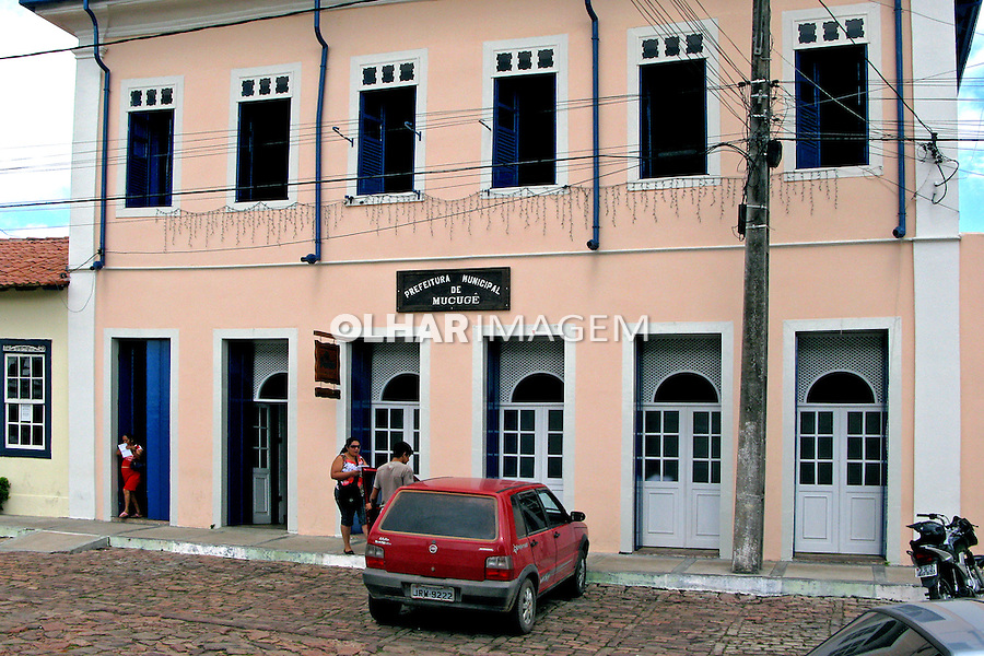 Prefeitura Municipal de Mucugê. Chapada Diamantina. Bahia. 2010. Foto de Lia Caldas.