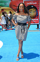 Garcelle Beauvais at the world premiere for &quot;The Emoji Movie&quot; at the Regency Village Theatre, Westwood. Los Angeles, USA 23 July  2017<br /> Picture: Paul Smith/Featureflash/SilverHub 0208 004 5359 sales@silverhubmedia.com