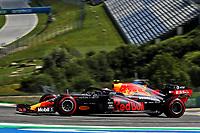 10th July 2020; Styria, Austria; FIA Formula One World Championship 2020, Grand Prix of Styria free practice sessions;  23 Alexander Albon THA, Aston Martin Red Bull Racing