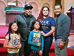 CORAL GABLES, FL - FEBRUARY 02: Daymond John speak and sign copies of his new book ' Rise and Grind: Outperform, Outwork, and Outhustle Your Way to a More Successful and Rewarding Life' at Coral Gables Congregational Church on February 2, 2018 in Coral Gables, Florida.  ( Photo by Johnny Louis / jlnphotography.com )