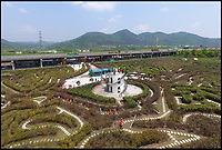 Record breaking maze built in China.