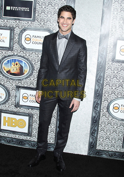 8 February 2014 - Universal City, California - Darren Criss. Family Equality Council's Los Angeles Awards Dinner held at Universal Studios Globe Theater. <br /> CAP/ADM/RE<br /> &copy;Russ Elliot/AdMedia/Capital Pictures