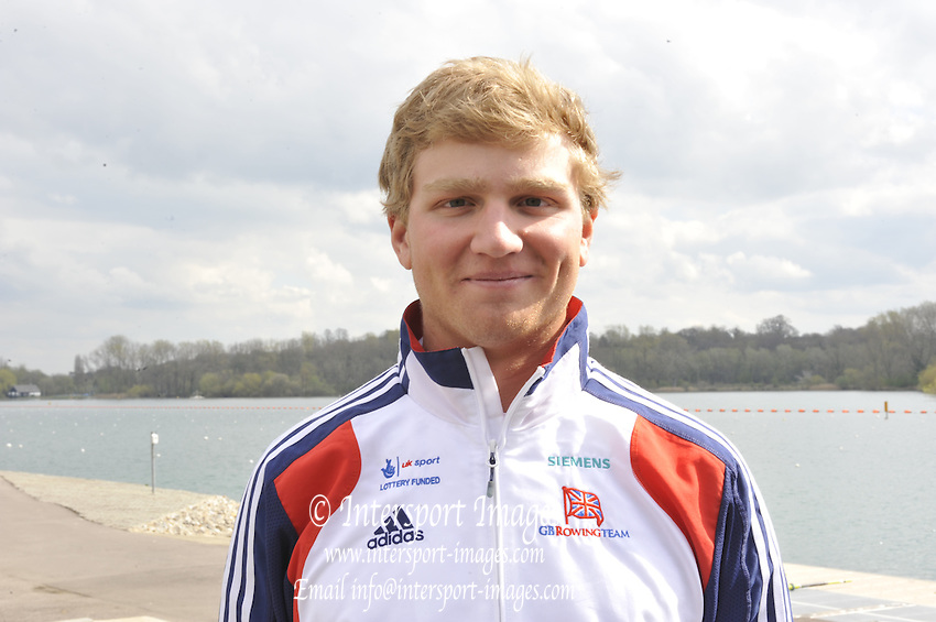 Caversham, Great Britain. GBR M8+ . Constantine Louloudis.   2012 GB Rowing World Cup Team Announcement Wednesday  04/04/2012  [Mandatory Credit; Peter Spurrier/Intersport-images]