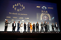 LOS ANGELES - OCT 6: On Stage at the Babylon Berlin International Premiere held at The Theatre at Ace Hotel on October 6, 2017 in Los Angeles, CA