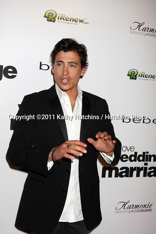 "LOS ANGELES - MAY 17:  Andrew Keegan arriving at the ""Love, Wedding, Marriage"" LA Premiere at Silver Screen Theater at the Pacific Design Center on May 17, 2011 in Los Angeles, CA"