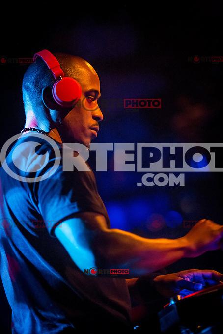 LAS VEGAS, NV - January 20 :  Ali Shaheed Muhammad performs at Body English at Hard Rock Hotel & Casino in Las Vegas, Nevada on January 20, 2013.  Credit: Kabik/Starlitepics/MediaPunch Inc. *** HOUSE COVERAGE*** /NortePhoto