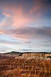 View of Cedar Breaks Amphitheater from Point Supreme in Cedar Breaks National Monument, Utah
