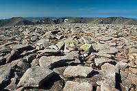 Braeriach, Sgor an Lochain Uaine and Cairn Toul from Ben Macdui, Cairngorm National Park, Badenoch & Speyside