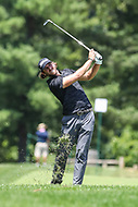 Bethesda, MD - July 1, 2017:  Andrew Loupe in action during Round 3 of professional play at the Quicken Loans National Tournament at TPC Potomac in Bethesda, MD, July 1, 2017.  (Photo by Elliott Brown/Media Images International)