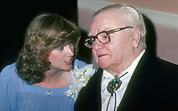 Diana Munson James Cagney 1982<br /> (Thurman Munson's widow)<br /> Photo By John Barrett/PHOTOlink.
