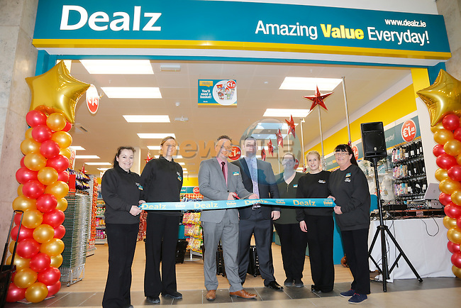 Store Manager John Fowley  at the opening of the Dealz new store in Mullingar Co West Meath.<br /> <br /> Picture Newsfile/Professional Images