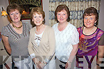 Having a great night out at the monthly Causeway Comhaltas night in Kirby's Bar on Saturday  were l/r Hannah O'Connor, Doreen Egan, Christina Neilan and Geraldine Quilter.