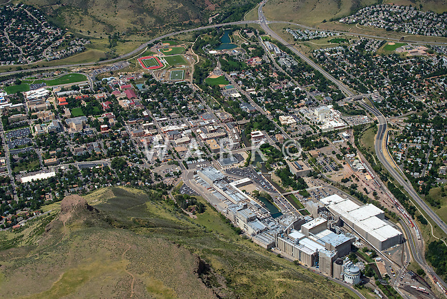 Golden, Colorado and Coors beer plant. Aug 21, 2014. 813054
