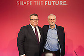 Tom Watson & Jeremy Corbyn win Labour Party leadership elections Westminster London