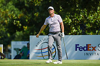 Lucas Bjerregaard (DEN) watches his tee shot on 8 during round 4 of the WGC FedEx St. Jude Invitational, TPC Southwind, Memphis, Tennessee, USA. 7/28/2019.<br /> Picture Ken Murray / Golffile.ie<br /> <br /> All photo usage must carry mandatory copyright credit (© Golffile | Ken Murray)