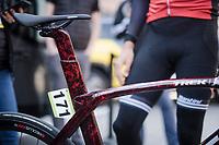 Jasper STUYVEN's (BEL/Trek-Segafredo) new marbled speed machine<br /> <br /> 62nd E3 BinckBank Classic (Harelbeke) 2019 <br /> One day race (1.UWT) from Harelbeke to Harelbeke (204km)<br /> <br /> ©kramon