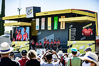 Team Arkea Samsic pre race team presentation <br /> <br /> Stage 6 from Le Teil to Mont Aigoual 191km<br /> 107th Tour de France 2020 (2.UWT)<br /> (the 'postponed edition' held in september)<br /> ©kramon