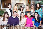 Enjoying Billy Nolans Jewellers Xmas Party and Celebrating the Launch of NH.ie at Croi the Sqare on Saturday Front l-r Stacey Moriarty, William Nolan, Siobhan Stack, Louise Nolan, Sonia O'Brien Back l-r Phena Mulligan, Trish Breen, Evelyn Culhane, Gina O'Connell, Amy Conway, Elaine Donoghue