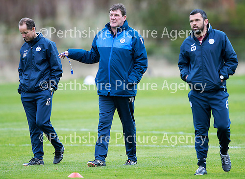St Johnstone Training….21.10.16<br />