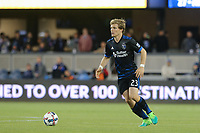 San Jose, CA - Friday April 14, 2017: Florian Jungwirth  during a Major League Soccer (MLS) match between the San Jose Earthquakes and FC Dallas at Avaya Stadium.