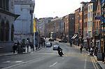 City centre historic street, Lord Edward Street,  Dublin, Ireland, Irish Republic